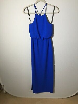 AU29.99 • Buy Forever New Womens Blue Maxi Dress Size 4 Formal Great Condition