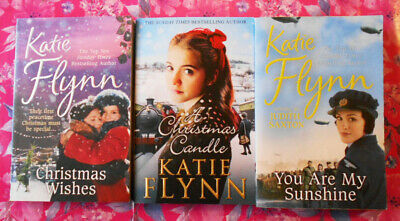 Katie Flynn Bundle // 3 Books (Wishes / Candle / You Are My Sunshine) • 12£