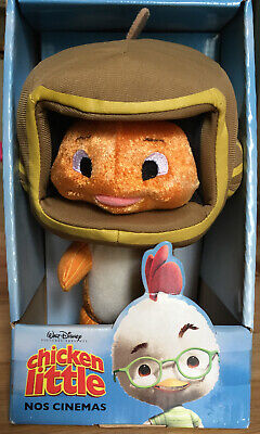 """Disney Chicken Little Movie Character Fish Out Of Water Stuffed Animal 8"""" Plush • 15£"""