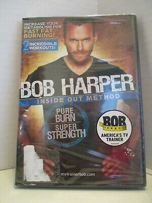 NEW Bob Harper Inside Out Method Exercise DVD Get Fit Lose Weight Burn Fat • 5.72£