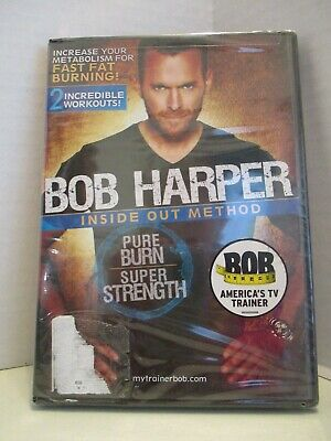 NEW Bob Harper Inside Out Method Exercise DVD Get Fit Lose Weight Burn Fat • 5.67£