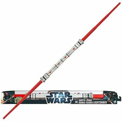 Star Wars Darth Maul Double Bladed Ultimate FX Lightsaber • 500£