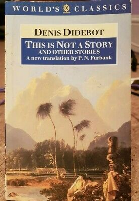 This Is Not A Story (World's Classics) By Diderot, Denis Paperback Book The • 4.40£