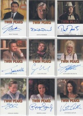 $ CDN17.27 • Buy Twin Peaks Archives 2019 Auto / Autograph Card Selection