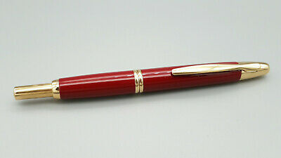 Pilot Capless Retractable Fountain Pen In Burgundy/gold, New • 150£