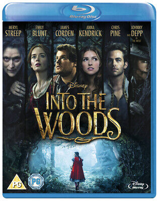 £2.89 • Buy Into The Woods (Blu-ray, 2015) USED