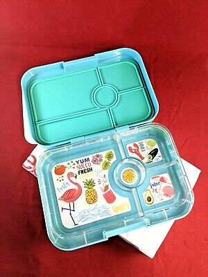 AU38.85 • Buy Yumbox Original Bento Box For Kids Green Leakproof Lunch Box
