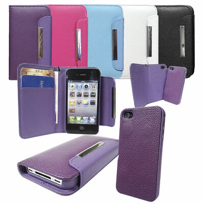 £4.98 • Buy 2 In 1 Detachable Flip Leather Wallet Luxury Case Cover For IPhone & Samsung