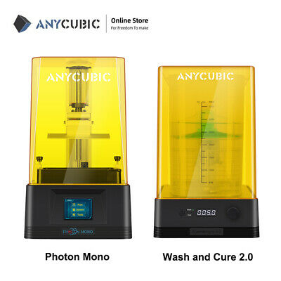 AU309 • Buy Anycubic Photon Mono LCD Resin 3D Printer Wash And Cure 2.0 405nm UV Light Resin
