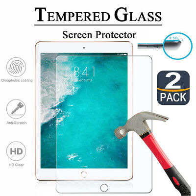 AU16.95 • Buy 2x 9H TEMPERED GLASS Screen Protector Flim For IPad 6th 5th Gen 9.7 2018 Air 1 2