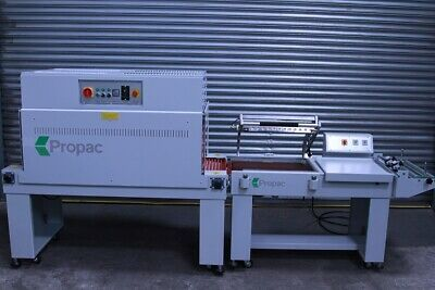 NEW - Propac Semi-Automatic L-Sealer And Heat Tunnel (£4000 + VAT) • 4,800£
