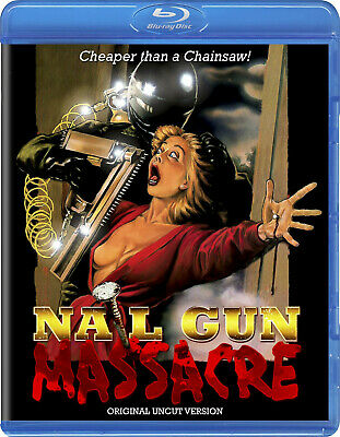 NAIL GUN MASSACRE Limited Edition Blu-ray | Code Red OOP 80'S Horror Slasher  • 23.60£