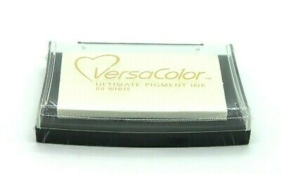 VersaColor White Pigment Ink Pad VC-80 Tsukineko - Stamping Art Craft  • 6.85£