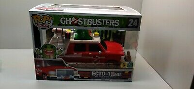 Funko POP! Rides: 2016 Sdcc Ghostbusters Ecto-1 With Slimer #24 SDCC STICKER • 35.76£