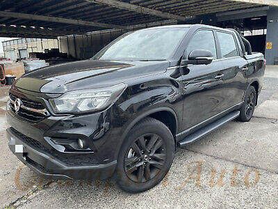 AU389 • Buy SsangYong Musso / Musso XLV Dual Double Cab 4 DOORS Side Steps 2019 -2021 Raptor