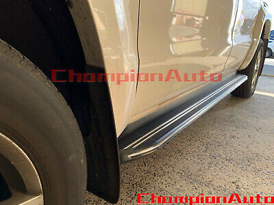 AU390 • Buy SsangYong Musso / Musso XLV Dual Double Cab 4 DOORS Side Steps 2019-2021(XR)