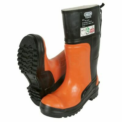 Rubber Boots For Chainsaw Protection Size 9-9.5 - OR295385/43 • 108.65£