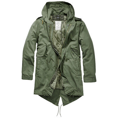 $203.95 • Buy Brandit M51 US Parka Urban Lining Fishtail Mens Cotton Casual Outdoor Olive