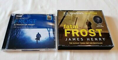 R.D. Wingfield, A Touch Of Frost/Fatal Frost Audiobooks X2 CD • 9.95£