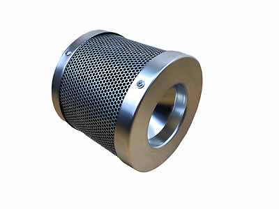 4  Inch 100mm X 200mm CARBON HYDROPONIC EXTRACTION FILTER GROW TENT ROOM ODOUR • 27.49£