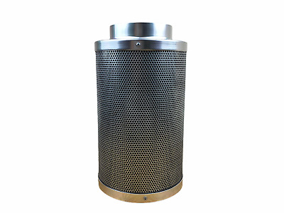 5  Inch 125mm X 300mm CARBON HYDROPONIC EXTRACTION FILTER GROW TENT ROOM ODOUR • 38.49£
