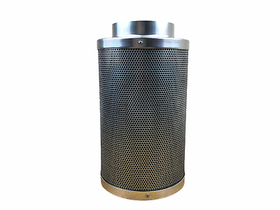6  Inch 150mm X 400mm CARBON HYDROPONIC EXTRACTION FILTER GROW TENT ROOM ODOUR • 59.49£