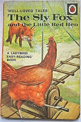 Vintage/Rare Well Loved Tales The Sly Fox And The Little Red Hen Ladybird Book • 20£