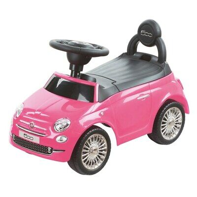 £49.99 • Buy Kids Toddlers Ride On Car Fiat 500 Pink Girls Baby My First Push Along Toy B/O