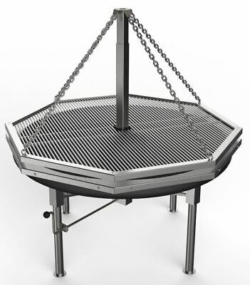 £4080 • Buy 1.4m Large Swing Grills. German And Christmas Market Catering. BBQ Barbecue
