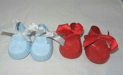 Vintage Cinderella Doll Shoes. Booties Shoes Size 3 • 3£