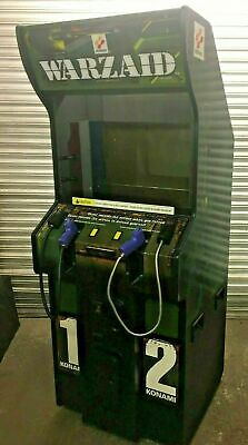 Konami - Warzaid Arcade Machine Coin Operated - Refurbished - New RTC - Working • 699£