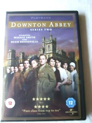Downton Abbey Series Two,  Consists Of 4 Discs • 4.99£