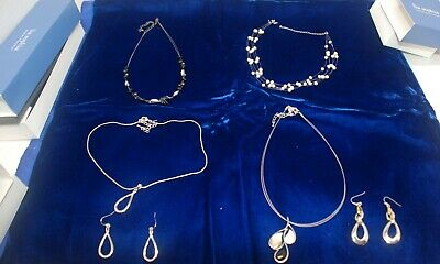 $ CDN40.16 • Buy Lia Sophia Lot Of 4 Necklaces, 2 Pr. Earrings