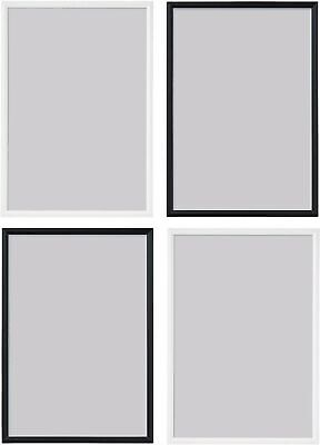 Ikea YLLEVAD Photo Frames Collage Picture Document Black White Various Sizes • 5.25£