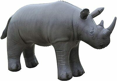Inflatable Giant Rhino  Blow Up Toy Large  Animal .Ideal Party Decoration.  • 18.99£