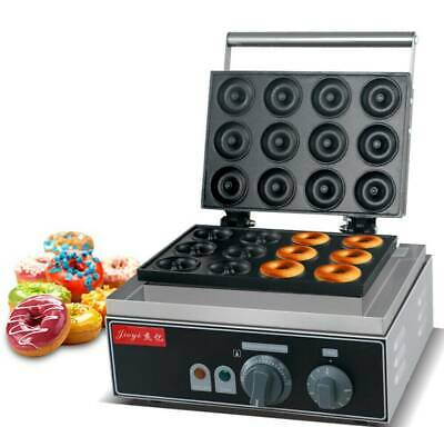 £184.06 • Buy 220V 12 Grids Commercial Donut Maker Electric Mini Round Donut Machine FYX-12A