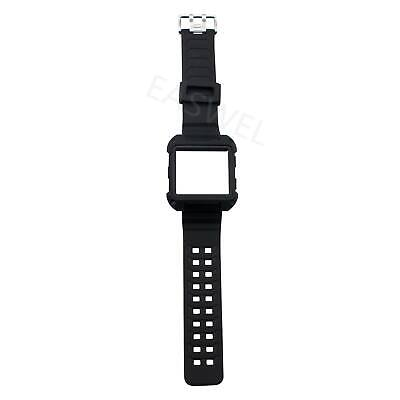 $ CDN11.40 • Buy For Fitbit Ionic Rugged Band Protective Case Large Wristband Strap Adjustable