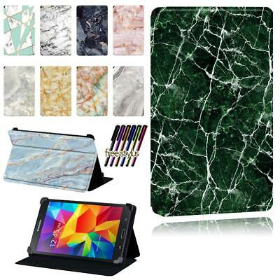 Leather Animal Stand Case Cover Fit Samsung Galaxy Tab 2 / 3 / 4 Tablet + Stylus • 6.99£