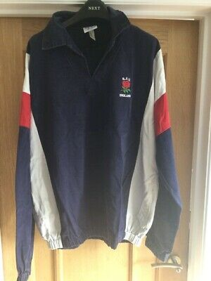 England Rugby Cotton Drill Top Jacket - Player Issue. Unique • 16.99£