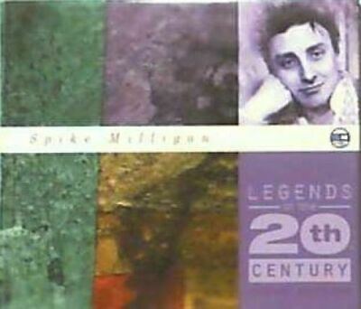 (65) Spike Milligan ‎–'Legends Of The 20th Century -Audiobook-EMI CD 1999- New • 14.95£