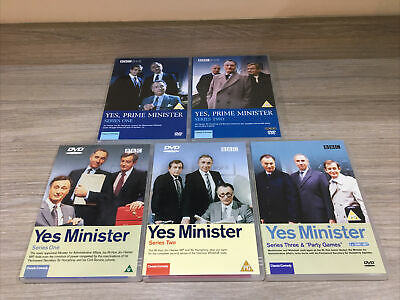 The Complete - Yes Minister & Yes Prime Minister - (1980-87) DVD Set • 10£