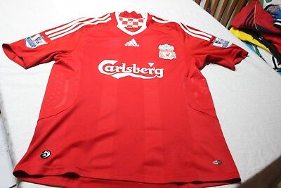 T-Shirt Official Of The Liverpool Brand Adidas T/M Carlsberg No 11 Riera Shirt • 88.90£