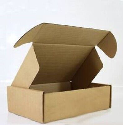 £10.20 • Buy Cardboard Boxes - Brown Kraft Gift Box Packing Cartons Mailing Post - Heavy Duty