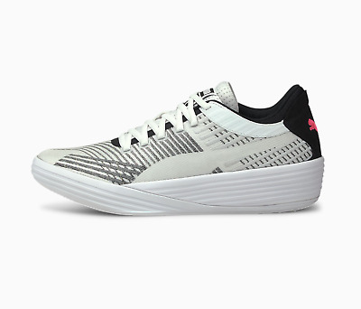 AU224.10 • Buy Puma Clyde Clyde All-Pro Basketball Shoes White Black Pink 194039_03 Size 5.5-17