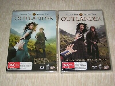 AU29.99 • Buy Outlander Complete Season One DVD Vol.1 And Vol.2 Brand New Sealed FREE POST