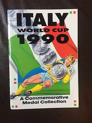 £450 • Buy Italy World Cup 90 1990 Medal And Coin Collection Complete Excellent