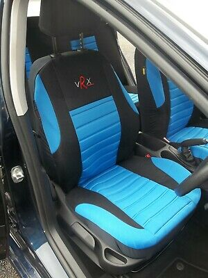 £49.99 • Buy To Fit A Bmw I3 Car, Seat Covers, Blue Vrx Sports, Full Set