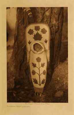 £8.99 • Buy A4 Print Native American Indian Flathead Baby Carrier