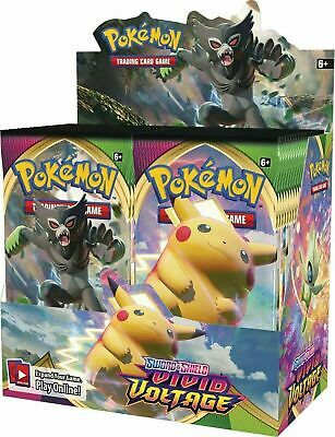 $179.99 • Buy AUTHENTIC SWSH Vivid Voltage SEALED Booster Box (36 Packs Of Pokemon Cards)