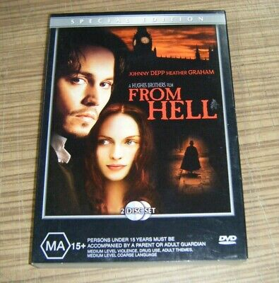 AU19.99 • Buy Pre-Owned DVD - From Hell [C3]